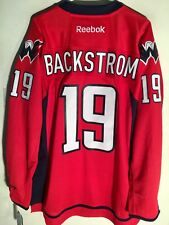 Reebok Premier NHL Jersey Washington Capitals Nicklas Backstrom Red sz M