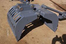 4-6 Ton Excavator Selector Grab Jcb Komatsu Takeuchi Hitachi Bobcat Doosan