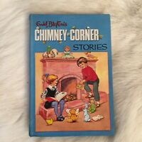 Vintage Enid Blyton Chimney Corner Stories Hardcover Illustrated