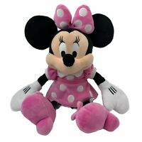 Minnie Mouse Polka Dot Outfit Disney Plush Stuffed Animal Collectible 13""