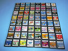 Nintendo DS Games You Pick Choose Your Own $4.95 Each FREE Ship! A to F Titles