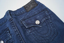 True Religion Jeans Lara Skinny Cargo Damen stretch Jeans Hose Gr.28 W28 blau #f