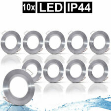 4x LED Luxus Decken Einbau Lampen Spots Bad Feucht-Raum Leuchten DIMMBAR B-Ware