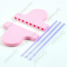 Set of Hairpin Lace Loom,Crafts Yarn/Wool Knitting Tool,Easy Knit For Scarf/Lace