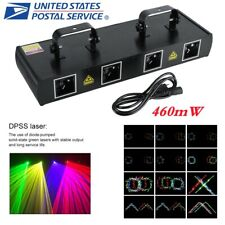 4 Lens 30W 460mW 7Ch Dmx Dj Laser Stage Light Club Party Lighting Projector Show