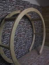 Garden Circle Arch Moon Gate Garden Wooden Round Arch