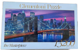 Clementoni - New York Jigsaw Puzzle, 13200 pieces Very Rare PERFECT GIFT