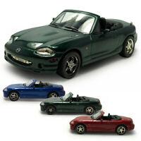Mazda MX-5 Cabrio 1:43 Die Cast Modellauto Spielzeugauto Kinder Sammlung
