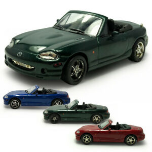 Mazda MX-5 Convertible Sports Car 1:43 Model Car Diecast Vehicle Collection Gift