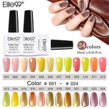 Elite99 Gelb Farben Nagellack Gel Polish Farbgel Top Base Coat Nail Art 10ml