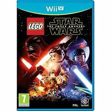 LEGO Star Wars: The Force Awakens Wii U - MINT - FAST First Class Delivery FREE