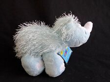 Ganz Webkinz BLUE RHINO HM196 Beanbag Plush Stuffed Animal No Code
