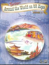 Around The World On 88 Keys Book 1 Grade 1-2 Piano Solos 2006 Cooper Blue Mosque