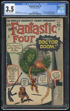 Fantastic Four #5 CGC 3.5 (Marvel 7/62) 1st appearance & origin of Dr. Doom