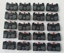 LOT OF 20 PCS OF SIEMENS 3SB3400-0C CONTACT BLOCK  (R6S2.5B2)