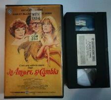 VHS IN AMORE SI CAMBIA di Richard Lang [WARNER BROS]