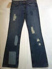 Seven 7 Blue Jeans/Women's/Size 28/Bootcut/Patches design/$178/NWT
