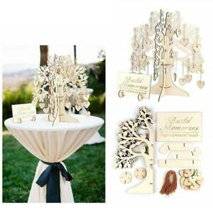 Guest Book 3D Signature Book Gift Decoration Party Festival Wishing Tree YS