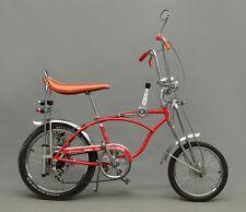 """Vintage Bicycle History Schwinn Orange Krate 11 x 14""""  Photo Print"""