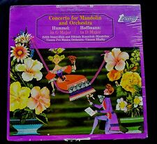CONCERTO FOR MANDOLIN AND ORCHESTRA-HUMEL/HOFFMAN-TV 3400S SEALED LP