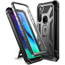 Moto G Stylus Case,Poetic Kick-Stand Shockproof Protective Cover w/Leather