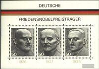 BRD (BR.Deutschland) Block11 (kompl.Ausgabe) Ersttagssonderstempel gestempelt 19