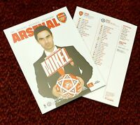 Arsenal v Chelsea Matchday Programme with teamsheet 29/12/19!!!