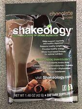 Shakeology CHOCOLATE Protein Shake Mix Powder 1 Single Serving Packet Beachbody