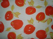Retro LARGE RED APPLE Fabric (55cm x 50cm)