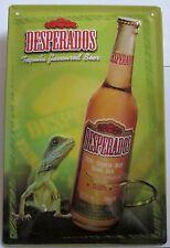 DESPERADOS mit LEGUAN, Tequila, BLECHSCHILD