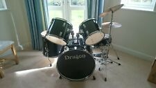 More details for dragon drum kit - used, includes 2 sets of drum sticks, silencer pads (as seen)