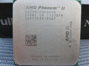 AMD Phenom II X6 1090T  - 3,2 GHz Six Core (HDT90ZFBK6DGR), nie übertaktet, OK
