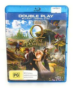 Oz The Great And Powerful (Blu Ray, 2013) Mila Kunis Region B Free Postage
