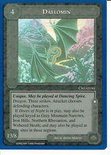 MIDDLE EARTH BLUE BORDER PREMIER RARE CARD DAELOMIN