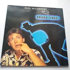 Paul McCartney - Give My Regards To Broad St Vinyl LP UK 1st 1984 A-3/B-2 EX+/NM