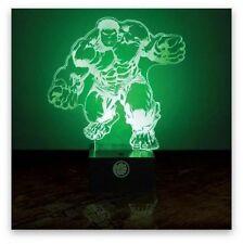 Lampe - Marvel Avengers: Hulk (mit 3D Effekt) (Neu)