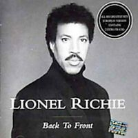 Lionel Richie - Back to Front [New CD] Bonus Tracks