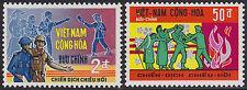 VIETNAM du SUD N°351/352** Soldats,1969 South Viet Nam #347-348 Soldiers MNH