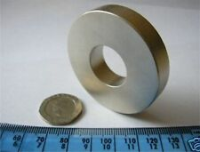 1 Huge D50 x D20 x 10mm Ring Magnet NdFeB / Neodymium