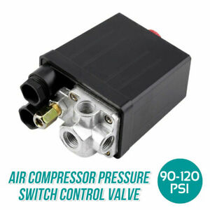 New Heavy Duty 90-120 PSI 240V Air Compressor Pressure Switch Control Valve AU