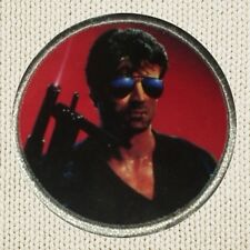 Cobra Poster Patch Picture Embroidered Border Cop Marion Cobretti Stallone Rambo