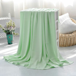 Thin Bamboo Summer Blanket Fiber Air Conditioning Blankets Throws Cool Feeling