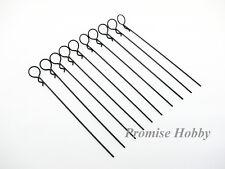 Bent medium ring long body clips pins for rc crawler car truck heli -10pcs