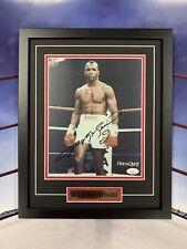 Sugar Ray Leonard Signed 8x10 Jsa Auto Custom Framed Boxing