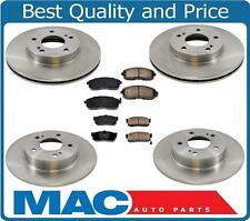 Front & Rear Disc Brake Rotors with Brake Pads for Maxima 94-99 & I30 96-99 6pc