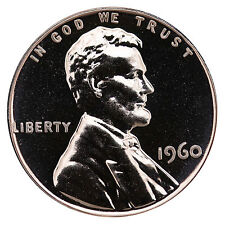 1960 Lincoln Memorial Cent Penny Gem Proof Mint Coin No Mint Mark Uncirculated
