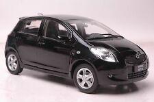 Toyota Yaris model in scale 1:18 black