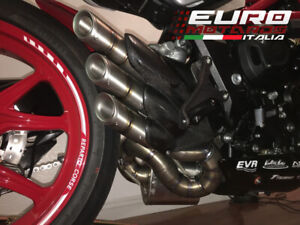 MV Agusta Brutale 800 2016-18 Silmotor Exhaust Silencer Full Titanium Road Legal