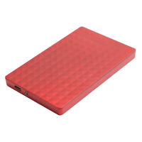 500GB/1T/2T TYPE-C External Laptop Hard Dive For Laptop Super-speed Red