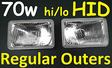 Toyota Landcruiser 61 62 80 series Regular Hi/Lo outers with 70W HID Hi/Lo kit